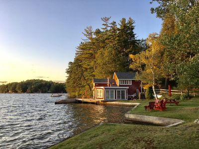Boat House Cottage On Great East Lake.