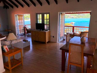 Photo for Bequia Beachfront Cottage