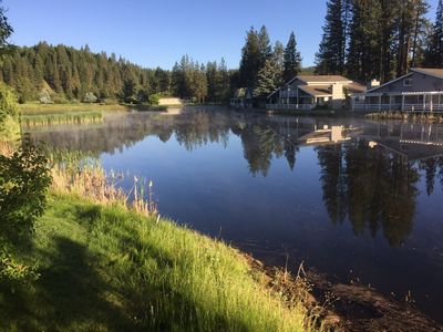 Photo for MOUNTAIN RETREAT ON BEAUTIFUL POND AND GOLF COURSE