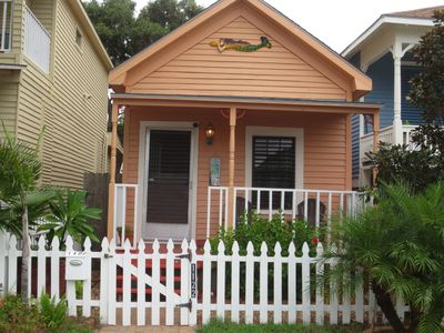 Photo for Historic 1900 Cottage: Beautiful & 3 BLOCKS from BEACH! Walk to BARS/RESTAURANTS