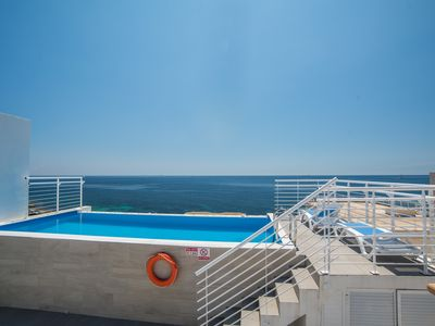 Photo for Villa Apartments with direct sea views and private pool