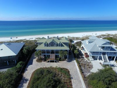 Photo for Spectacular Gulf Front Home, 4 Br, 4.5 Ba, Elevated Pool W/Gulfview, Sleeps 9