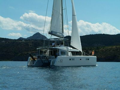 Photo for Catamaran Lagoon 52 for your sailing holiday in Greek islands with...