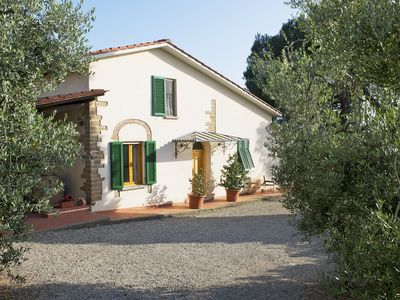 Photo for 2 bedroom bungalow, private terrace, great views, wifi, shared pool, near Vinci