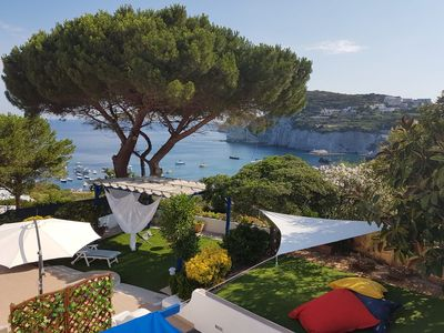 Photo for Villa of the Swimming pools of Cala Feola (Ponza)