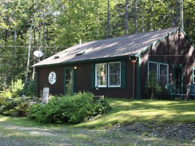 Photo for Quiet Cozy Cottage in Harford's Point just steps to Moosehead Lake water views!