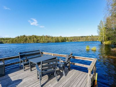 Photo for Holiday house near the lake with 3 bedrooms, lake view from the terrace