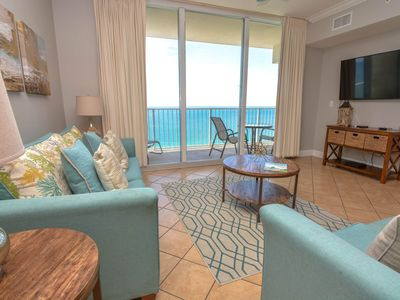 Awesome Views! Beautiful Decor. Walking distance to Pier Park.