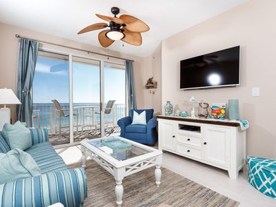 Photo for Gulf Dunes 608: beautiful 2 bedroom, BEACH FRONT - OUTSTANDING VIEWS!