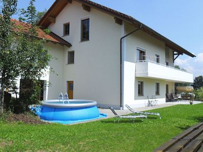 Photo for Family-friendly flat with covered terrace in the Bavarian Forest