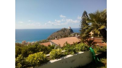 Photo for Exclusive 76 sqm open space apartment in villa with panoramic views