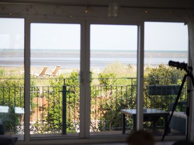 Photo for Newly Renovated Family Friendly Beach House With Hot Tub! Outstanding Sea Views
