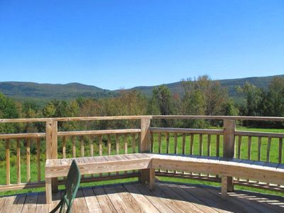 Photo for **Fabulous Panoramic Mountain Views! 2 Decks, Jacuzzi, 4000 Sq. Ft!.- 3 Levels
