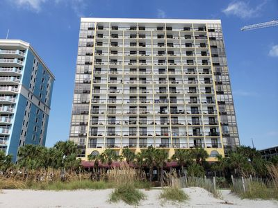 Photo for Direct Oceanfront Condo W/ Private Balcony Overlookng Atlantic Ocean