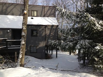 Photo for Village at Camelback TRUE ski in and out Townhouse 30ft from slopes
