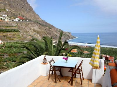 "Photo for Apartment ""Buganvilla"" - with sea view and terrace"