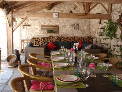 Photo for Silence, Space and Comfort in our 4* gîte with private heated swimmingpool