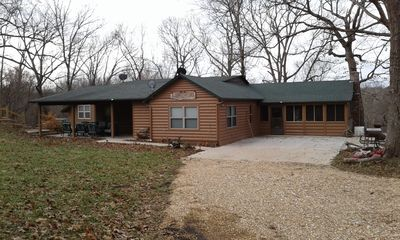 Photo for Driftwood River Lodge on the Meramec River. Steelville, MO.