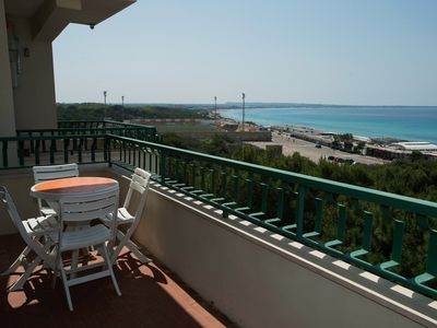 Photo for Gallipoli, 50 meters from Lido San Giovanni, sea view