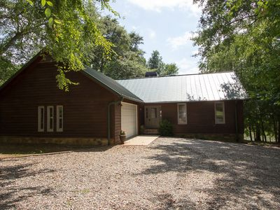 Photo for Rustic Lake Home In Quite Cove,125 Lullwater Lane, Eatonton