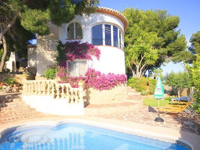 Photo for 4 bedroom Villa, sleeps 8 in Lleus with Pool and WiFi