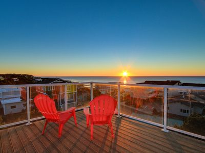 Photo for This home features an amazing 360 degree view deck plus private hot tub