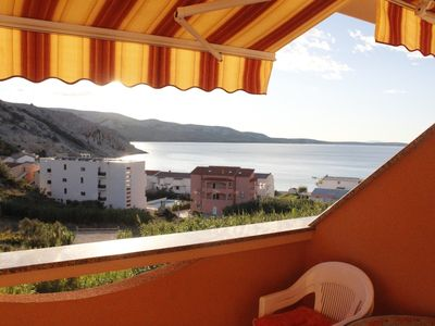 Photo for Apartment Zeljko  A1(2+2)  - Metajna, Island Pag, Croatia