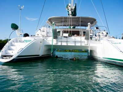 Photo for 57 foot private catamaran, come and enjoy key West in style!