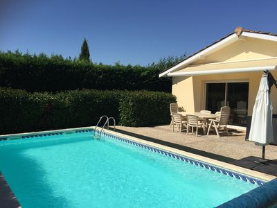 Photo for VILLA ENTIERE 14 KM BORDEAUX WITH SWIMMING POOL AND GARAGE