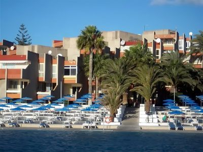 Photo for 25. Cozy 1bed apartment on the 1st line of the ocean in the south Tenerife