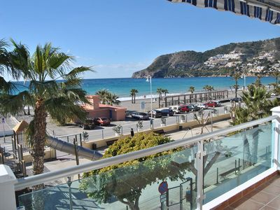 Photo for Apartment 1 bedroom facing the sea with terrace and great views