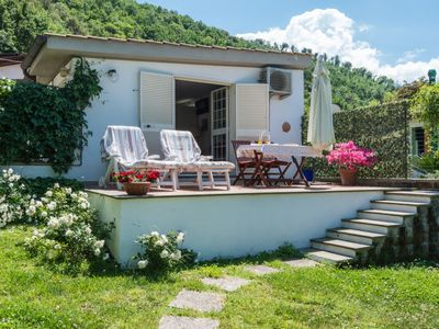 Photo for Vacation home Chalet sul Lago in Anguillara - 2 persons, 1 bedrooms