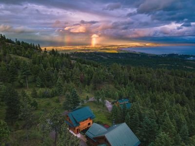 Photo for Secluded Get Away with Magnificent Views Near Glacier Park, Lake & Ski Area