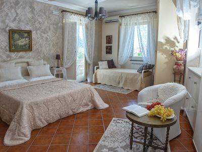 Photo for Villa Concetta - in Sorrento center, FREE parking, pool, garden and free WI-FI