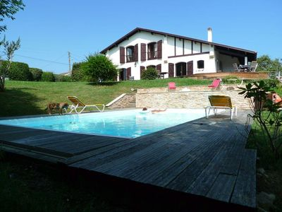 Photo for 6 bedroom Villa, sleeps 13 with Pool, FREE WiFi and Walk to Beach & Shops