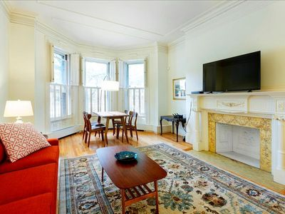 Photo for Back Bay Boston Furnished Apartment Rental - 387 Commonwealth Avenue Unit 1