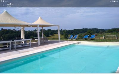 Photo for villa 20 minutes from Rome center swimming pool and horses ideal for large families
