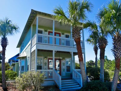 Photo for Family-friendly home by the beach w/ private & shared pool - snowbirds welcome!