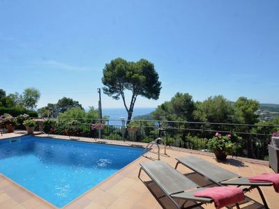 Photo for House in Aiguablava with private pool. Beautiful views of the sea