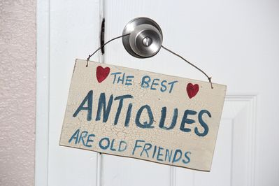 I just love old things and making new friends. Come stay for awhile with friends