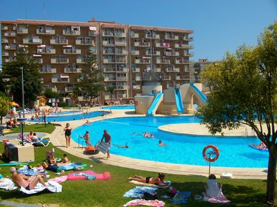 Photo for Jupiter-Minerva study with giant swimming pool and air conditioning. Benalmádena