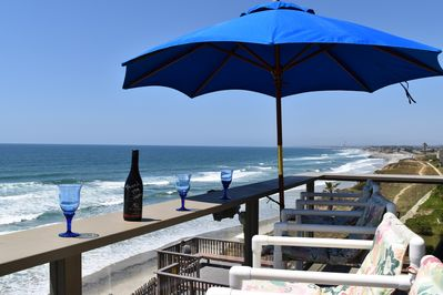 Large Balcony Ocean Front View