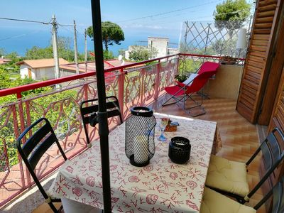 Photo for Homerez last minute deal - Nice apt with sea view