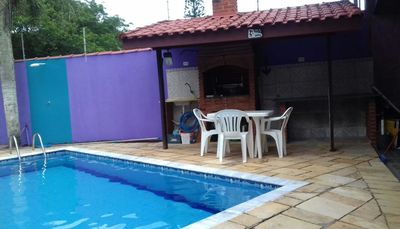 Photo for Peruíbe house with swimming pool