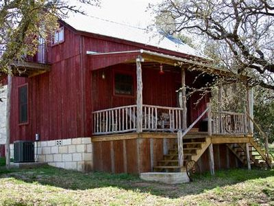 Photo for Secluded Rustic Cabin Close To Enchanted Rock