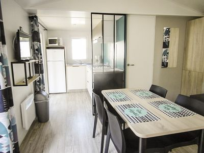 Photo for BETWEEN LAKE & OCEAN, VERY NICE MOBILHOME (2018) ENTIRELY EQUIPPED