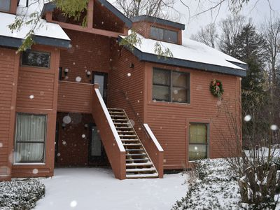 Photo for Trail Creek Upper unit 2Bed/2Bath King/Twins + Loft/Queen on ski home trail
