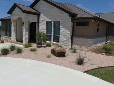 Photo for Large newer hill country home with great views!!!