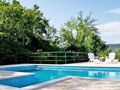 Photo for Lovely apartment for 10 guests with A/C, WIFI, private pool, TV and parking