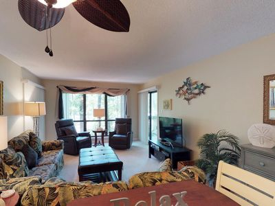Photo for Dog-friendly condo with tennis, shared pool access, & quick walk to beach